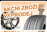 Akční ceny na pneumatiky, alukola, plechové disky, sady kol